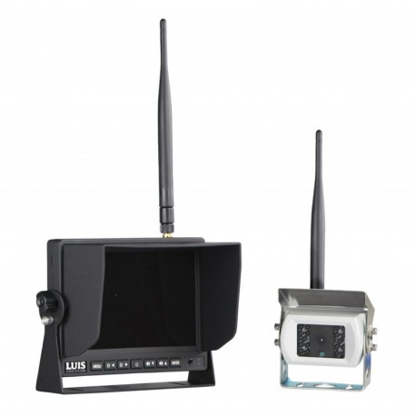 Monitor e telecamera wireless 12V-24V