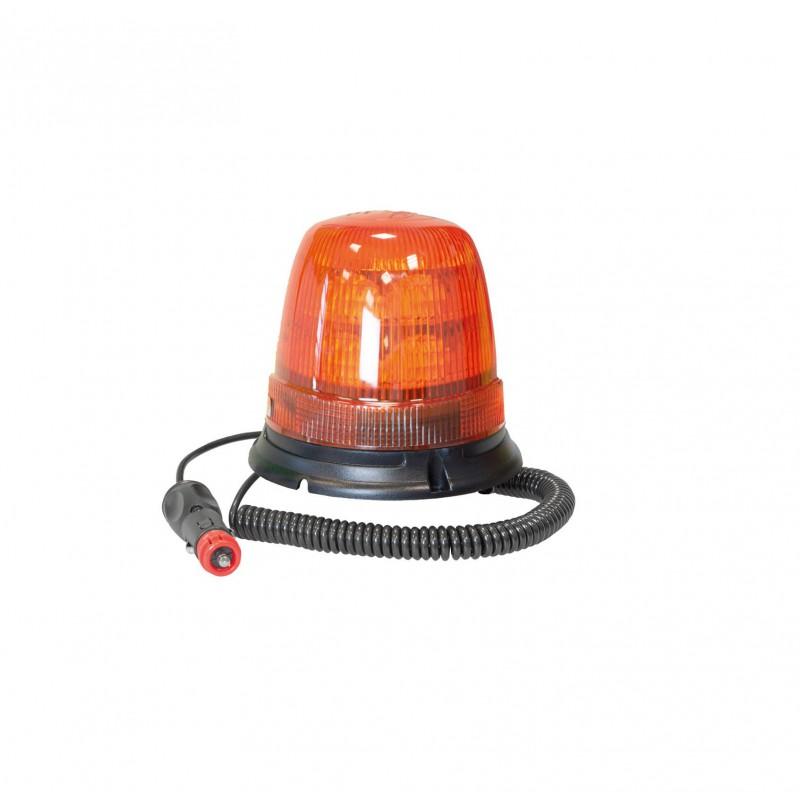 Lampeggiante a led base magnetica presa accendisigari 12V-24V