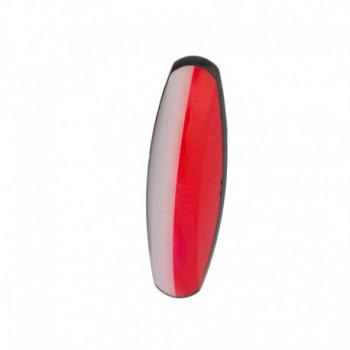 Luce di ingombro bianco rossa Flexipoint 2 base nera senza lampadina