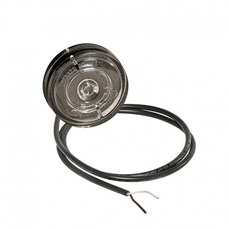 Luce di posizione anteriore a led luce bianca Posipoint 2 bianca 12-24V cavo 250mm