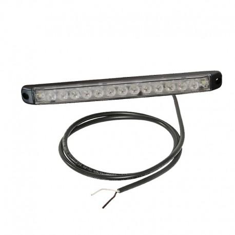 Luce Linepoint 1 a led 12V-24V freccia cavo 0,5m e lente trasparente