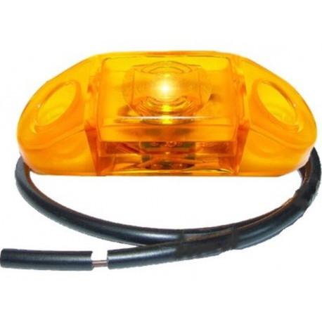 Luce laterale arancione a led Pro-Can 12V con cavo 0,5m