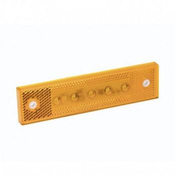 Luce laterale Pro-Super-Flat arancione 12/24V