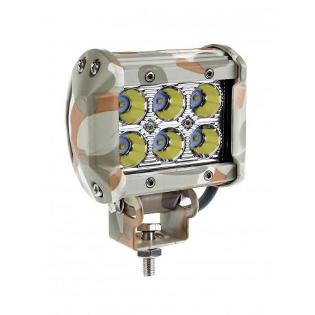 Faro lavoro led 12V-24V mimetico 1800 lumen Spot