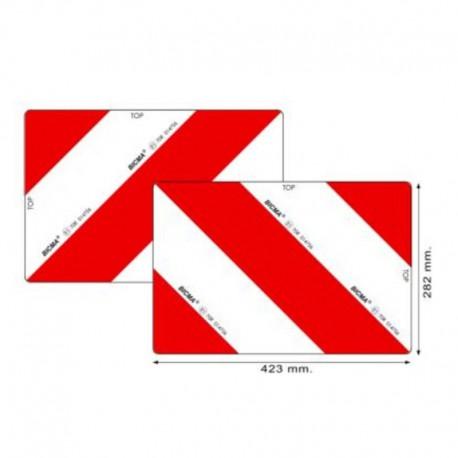 Coppia pannelli agricoli certificati ECE70 classe 5 423x282